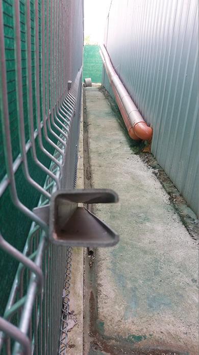 panelne ograde stub