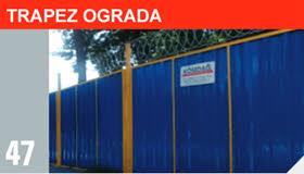 trapez ograda