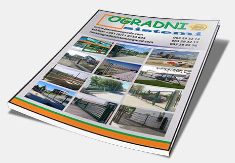 Novi katalog za 2017 Ogradni Sistemi - Panelne ograde i kapije