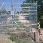 postavljanje kaveza od panela
